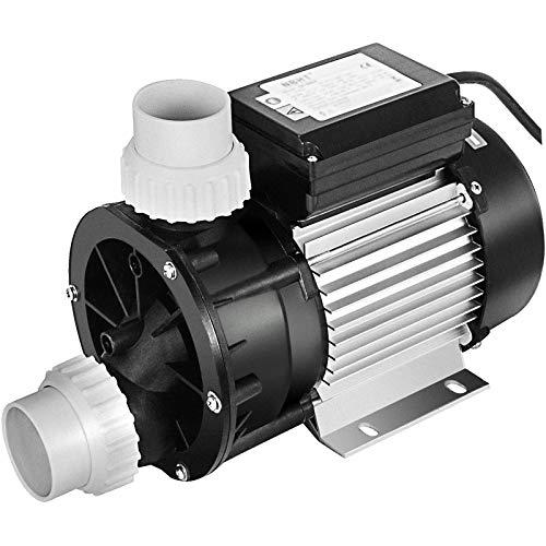 VEVOR JA50 Pompa di Circolazione Pompa Spa 1HP 370W, 270L/ Min Pompa Vasca idromassaggio Circolazione Acqua Pompa Piscina Fuori Terra (JA50A)