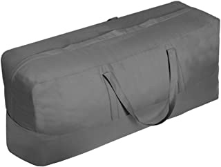 Vailge Patio Cushion/Cover Storage Bag Waterproof Outdoor Patio Furniture Seat Rectanglar Cushions Storage Bag 60 Inch , Z...
