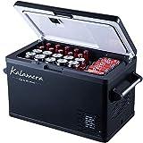 Kalamera 37-Quart Portable Refrigerator - Portable Fridge for Car - 12V Compact Car Fridge - Outdoor Travel Mini Refrigerator for Camping - AC and DC Portable Freezer - Small Portable Mini RV Fridge