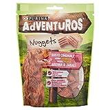 Adventuros - Nuggets Snack Perro Aroma a Jabalí, 90 g