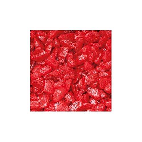 Season Dekosteine, Streudeko Zierkies 5-8mm rot 1kg im Beutel (1,95€/kg)