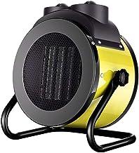 Foern Mini Calefactor Portátil Eléctrico PTC Elemento de Cerámica Ventilador Calefactor de Aire Caliente con Viento Calor y Natural 3 Configuraciones de Temperatura
