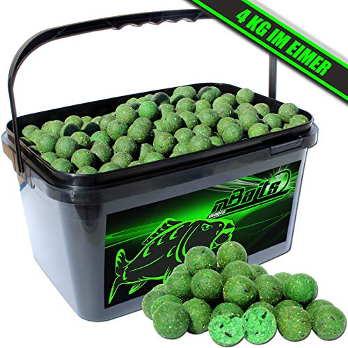 Angel-Berger Magic Baits Boilies im Eimer 4 kg (Muschel)