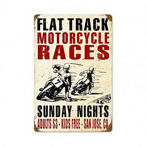 ABLERTRADE Abletrade Plaque en m/étal 20,3 x 30,5 cm 1963 24 Heures du Mans publicit/é Automobile Vintage Poster Mural Plaue Decor Sign