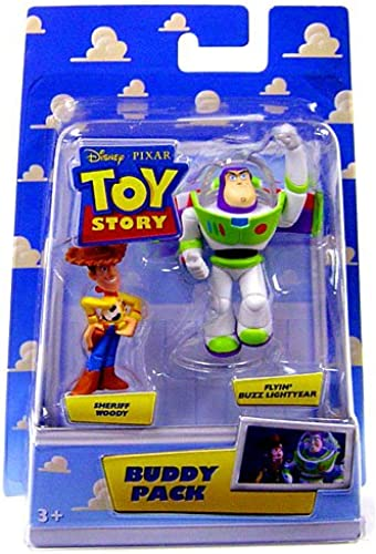 Mattel Toy Story p6815- Figur Science Fiction Toy Story 2 eht Buddy Pack Flying Sheriff Woody und Buzz Lightyear