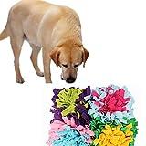 zhppac Alfombra Olfativa Perros Alfombra Olfato Perro Juguetes de Perro para el tedio Estera de Snuffle para Cachorros Perro olfateando Pad