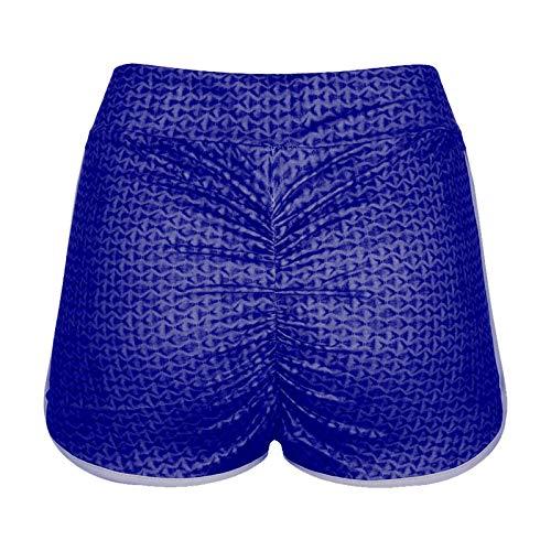 happygirr Leggings cortos para mujer, con estampado de glúteos, para hacer yoga y ejercicios de gimnasia