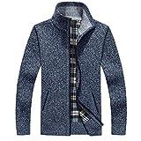 Pulls pour Hommes Automne Hiver Pull Chaud épais Cardigan Manteaux vêtements pour Hommes Hommes Tricots décontractés