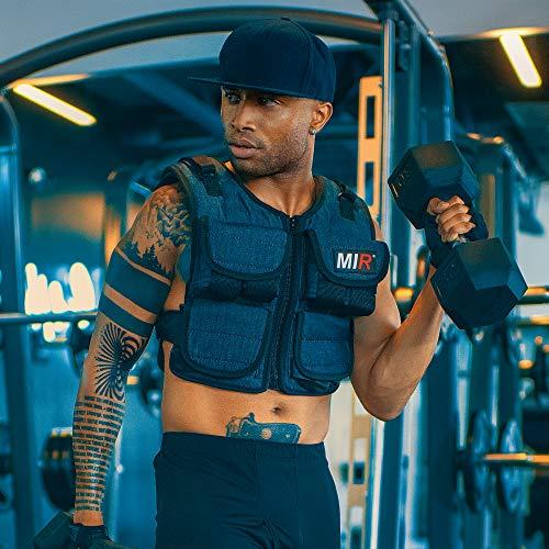 miR Air Flow Adjustable Weighted Vest, 30 lb