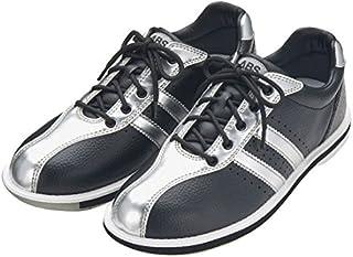(ABS) ボウリングシューズ S-380 ブラック?シルバー 24cm 右投げ 【ボウリング用品 靴】