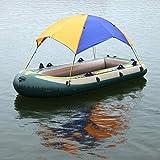 Yezytech Toldo Inflable de toldo de Kayak, Refugio de sombrilla para Barco,4 Personas Refugio de Sol de Barco Cubierta de toldo de velero Tienda de toldo de Pesca Tienda de protección Solar