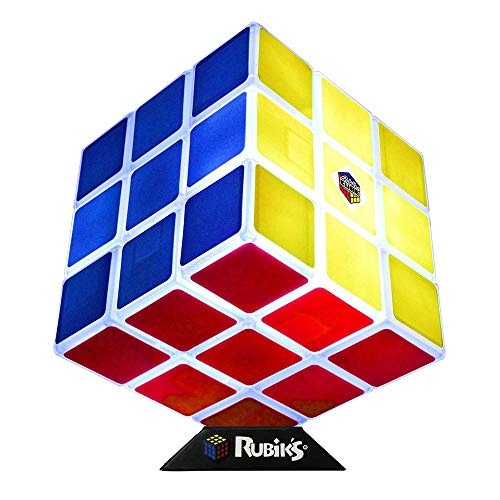 Rubik's Cube - Lámpara de mesa, diseño de dados mágicos