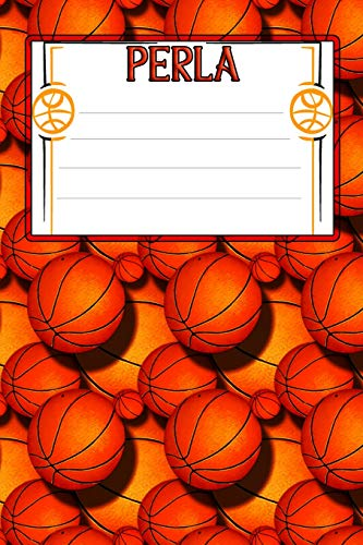 Basketball Life Perla: College Ruled   Composition Book