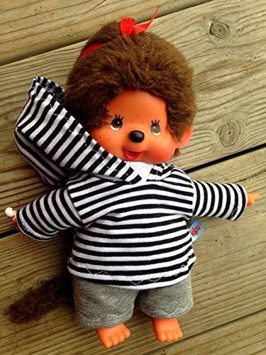 Puppenkleidung handmade für MONCHICHI Gr.20 Bekleidung Kapuzenshirt Hoodie + Hose Kleidung Puppenkleidung