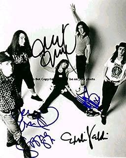 pearl jam signed memorabilia