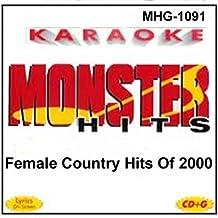Monster Hits Karaoke 1091 - Female Country Hits of 2000