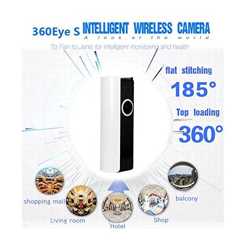 Wireless WiFi Cámara de vigilancia, 720P HD Detección de movimiento / Alarma / Soporte para IOS y Android IP inalámbrica Wifi Cámara de seguridad