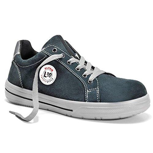 Elten Sneaker Sicherheitsschuhe Skater schwarz ESD S2 38 Schwarz