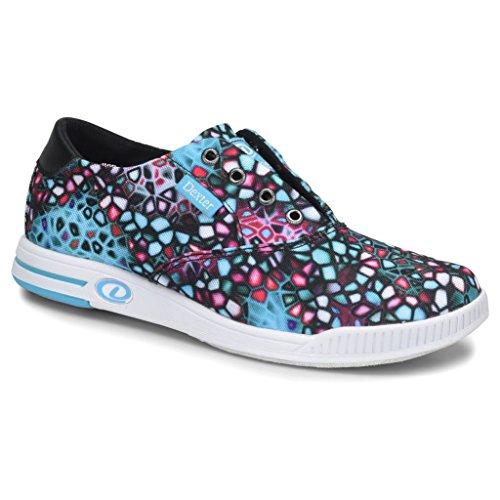 Dexter Womens Kerrie Bowling Shoes- 7 1/2, Black/Multi, 7.5