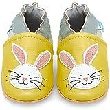 Zapatos Bebe Niña - Zapatillas Niña - Patucos Primeros Pasos - Conejito - 0-6 Meses