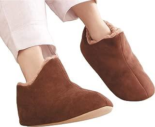 極暖 足が包まれるスリッパ Lサイズ