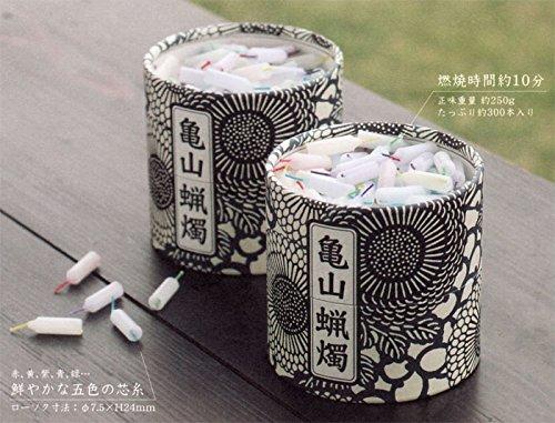 ハセガワ仏壇 ミニロウソク [亀山五色蝋燭] 1箱約300本入 (約10分) 2箱入セット