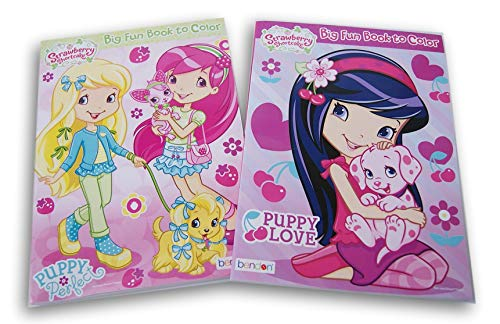 Coloring Books Strawberry Shortcake Set - Two (Covers Vary)