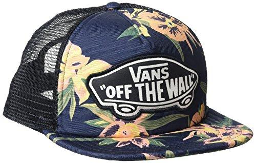Vans_Apparel Beach Trucker Hat Gorra de béisbol, Multicolor (Fall Tropics), Talla única para Mujer