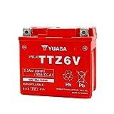 台湾ユアサ YUASA TTZ6V バイクバッテリー充電済 【互換 YTZ7S FTZ7S GTZ7S YTX5L-BS】 即使用可能 Dunk DioZ4 ZOOMER PCX