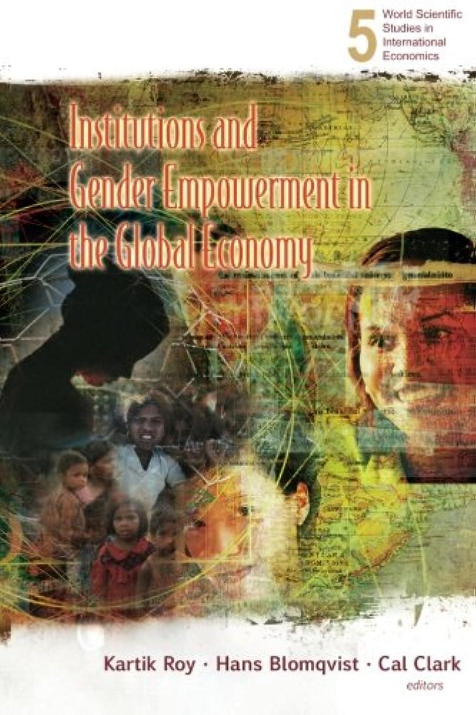 洪水休日公平Institutions And Gender Empowerment In The Global Economy