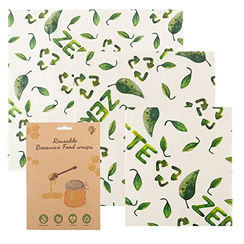 ACAREY Papel de cera orgánico, lavable, reutilizable, para almacenamiento de alimentos, embalaje de queso y sándwich (vida ecológica)