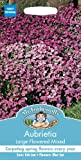 Mr Fothergill's 12315 Seeds, AUBRIETA Large Flowered Mixed