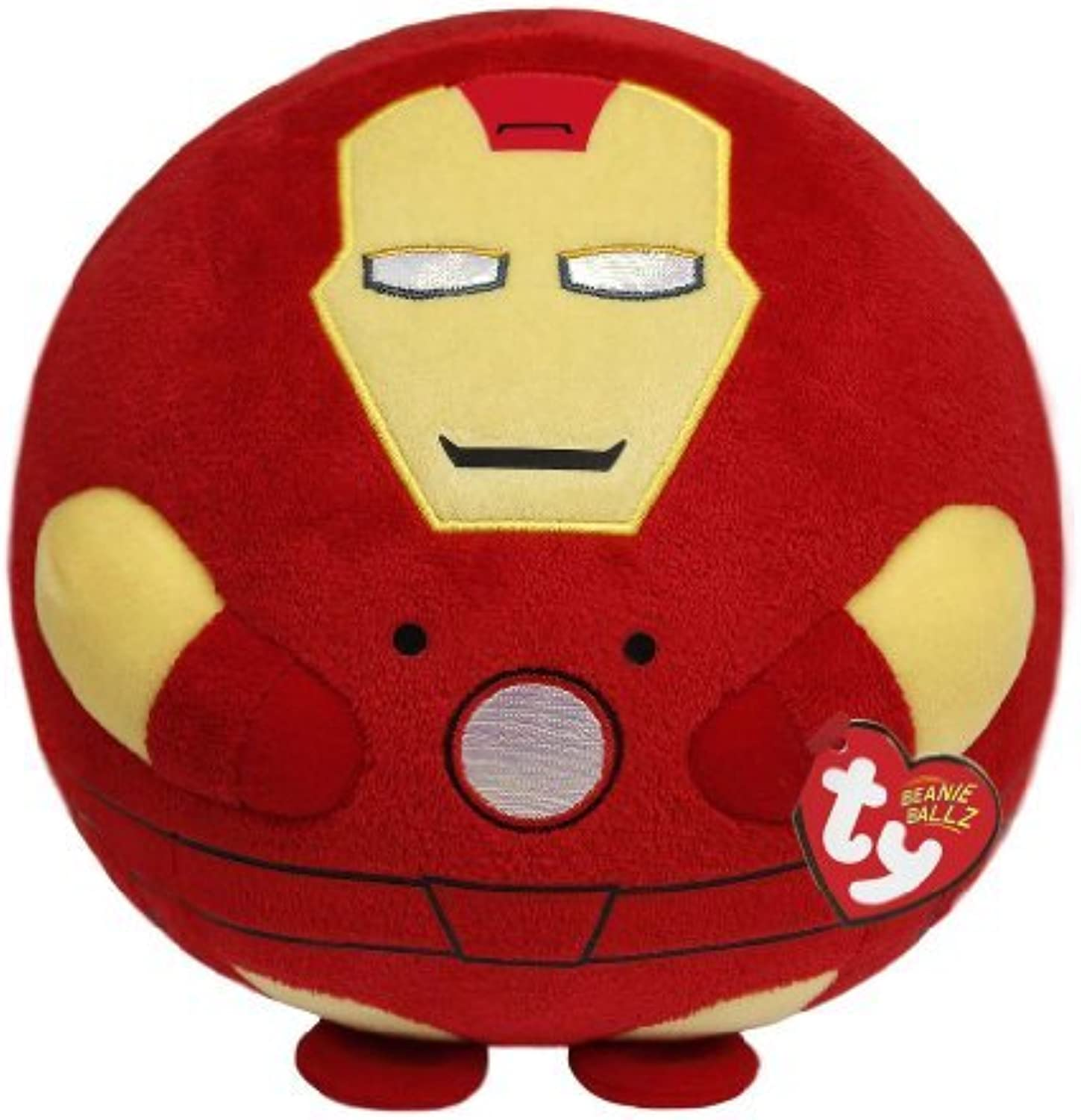 Ty Beanie Ballz Iron Man Plush, Large by TY Beanie Ballz