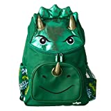 Smiggle Character, Mochila Preescolar para niñas y niños con Dos portabebidas   Dinosaurio