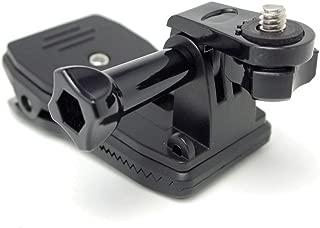 360°回転式クリップマウント GoProマウント 1/4 カメラネジ 変換アダプタ PlayShot XIAOMI ソニー SONY 等 アクションカメラ用 保証書付き