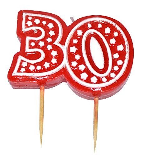 Aptafetes - Bougie anniversaire 30