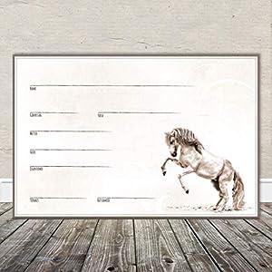 Boxenschild Stallschild Stalltafel Namensschild Pferd 'Andalusier, Lusitano, Spanier' 20x30cm