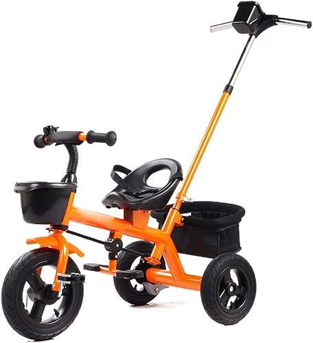 primera reputación de los clientes primero Jian E E-Carro Triciclo de Niños Niños Niños 2 en uno Carrito de Cochecito de Niño de 2-3 años para bebé de Bicicletas Carrito de bebé  (Color   A)  grandes ofertas