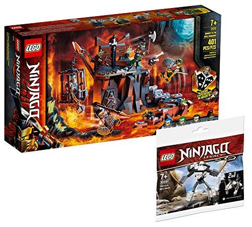 Collectix Lego Set – Ninjago Viaje a las calaveras 71717 + Ninjago Mini Titan Mech 30591 (bolsa de plástico)
