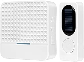 Miss Beauty Door Bell 300M Range Solar Power Wireless Doorbell Night Light with