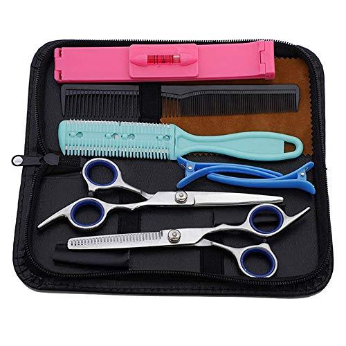 Haarschere, Scheren-Sets, Premium Scharfe Friseurscheren, Friseurscheren aus Edelstahl zum Ausdünnen und Strukturieren, Professionelle Friseur-Sets