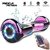 Mega Motion Self Balance Scooter Elettrico E1-6.5' Elettrico Segway - Bluetooth -(chome...
