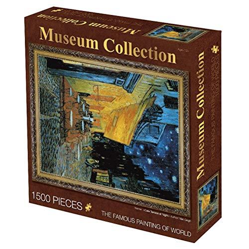 WLH- 1500 Pieces Of Super Moeilijk Adult Puzzel Decompression Paper Olieverfschilderij van het Landschap Children's Educatief speelgoed Verjaardag creatief cadeau (Color : C)