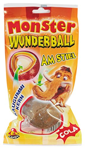 ZED Candy Mammouth Monster Wunderball Cola am Stiel