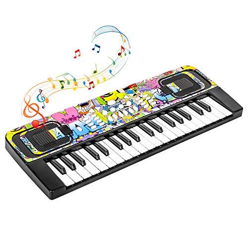 Shayson Kids Piano Keyboard, 37 Keys Electronic Piano Keyboard for Kids Multifunction...
