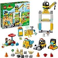 LEGO DUPLO Construction Tower Crane & Construction 10933 Building Kit
