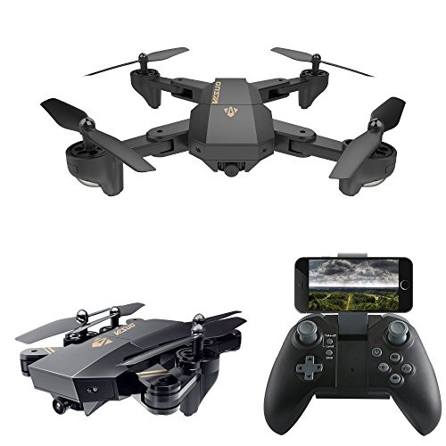 Fineser VISUO XS809HW Drone RC Quadcopter Foldable...