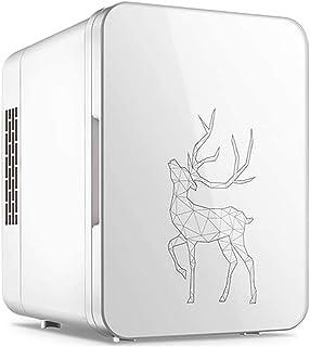 4L Mini Fridge, Portable Freezer, Compact Cooler and Warmer, Single Door Mini Fridge Freezer for Cars, Road Trips, Homes, ...