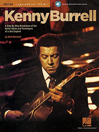 Kenny Burrell: Signature Guitar Licks: Lehrmaterial, CD für Gitarre: Guitar Signature Licks