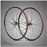 Ruedas 29 pulgadas de ruedas de ruedas de bicicleta de doble pared aleación de aluminio de aluminio ruedas de bicicleta de montaña freno de disco de rim Lanzamiento rápido 24 orificios 8,9,10,11 veloc